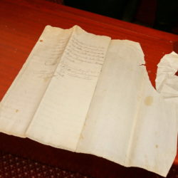 Prvo javno izlaganje povijesnog dokumenta iz 1725. godine