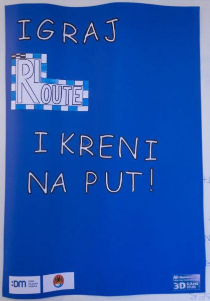Osmišljena društvena igra radnog naziva Ri-route