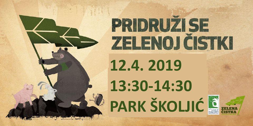 Zelena čistka u Parku Školjić