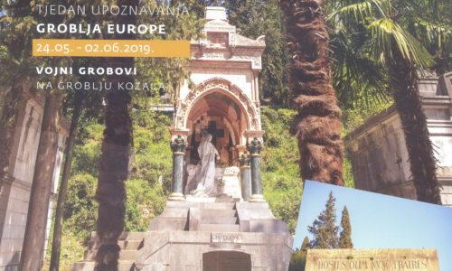 Brošura o vojnim grobljima