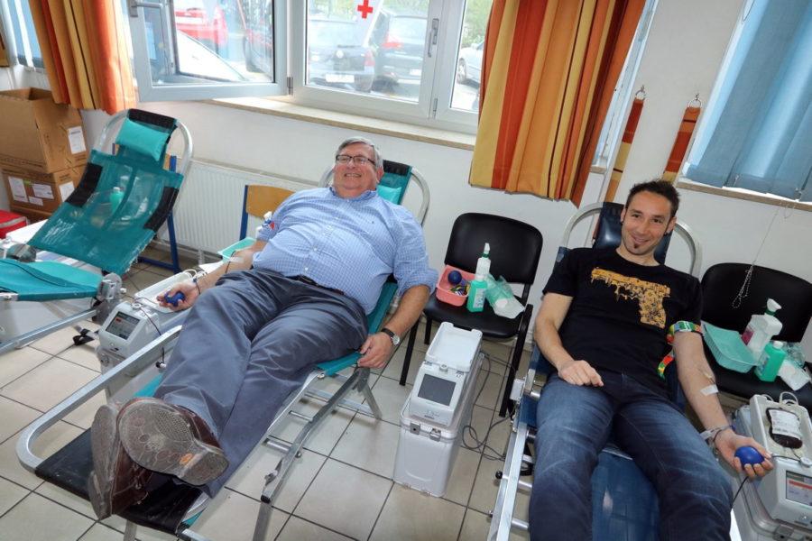 Dan vatrogasaca - gradonačelnik daruje krv