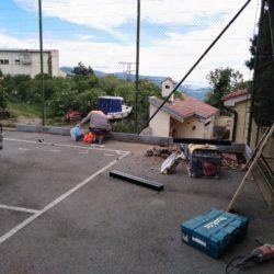 Izvođenje radova na odvodnji oborisnke vode s igrališta