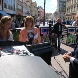 KD Čistoća predstavila svoje nove pametne solarne spremnike za otpad