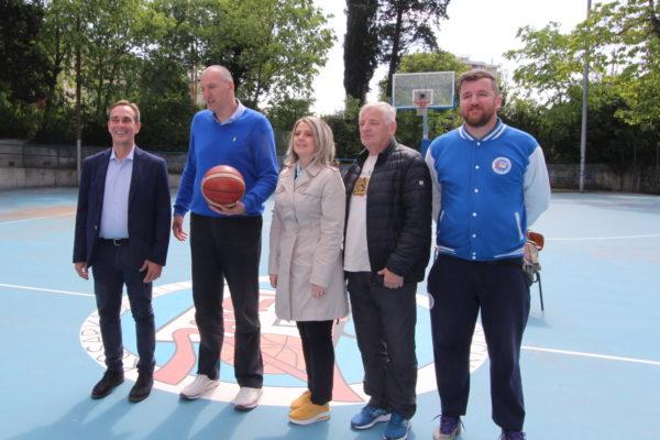 Erkki Ranta, Milan Vukajlović, Dragica Fadljević i Veljko Karabaić