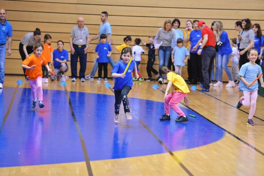 Olimpijski festival dječjih vrtića Grada Rijeke u dvorani Centra Zamet
