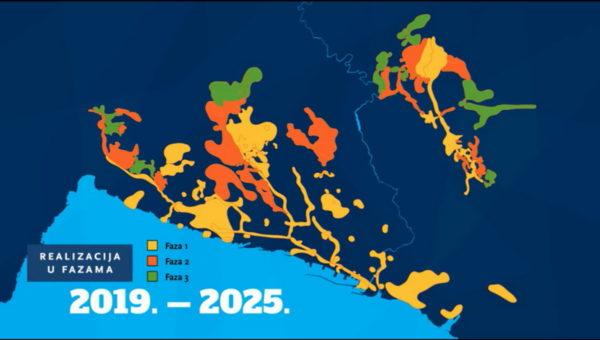 Na području grada Rijeke radovi će se izvoditi u oko 200-tinjak ulica na oko 82 kilometara kanalizacije i oko 31 kilometar vodovoda
