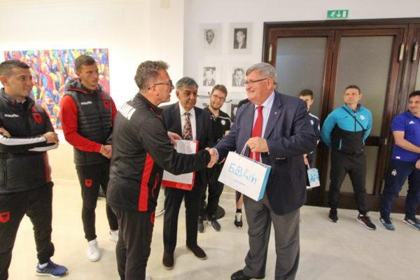 Gradonačelnik Obersnel čestitao polufinalistima