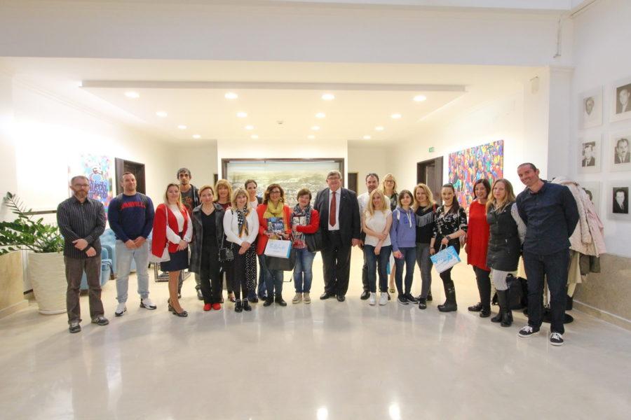 Prijam za sudionike Erasmus projekta
