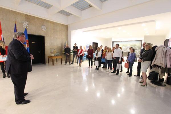 Sudionike Erasmus+ projekta pozdravio riječki gradonačelnik Obersnel