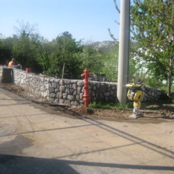 Pripremni radovi za asfaltiranje