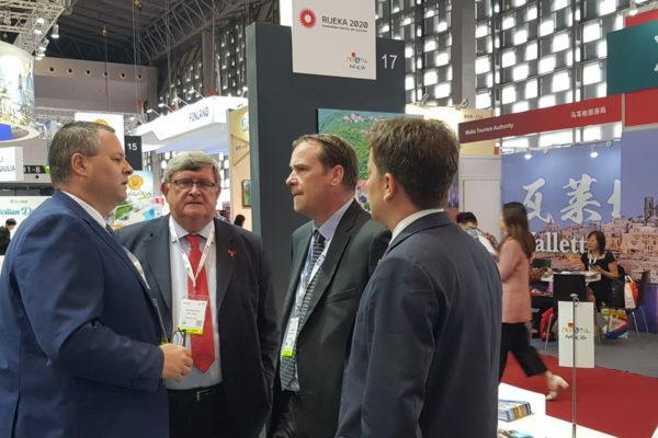 Kristjan Staničić, Vojko Obersnel, Petar Škarpa i Andrej Poropat