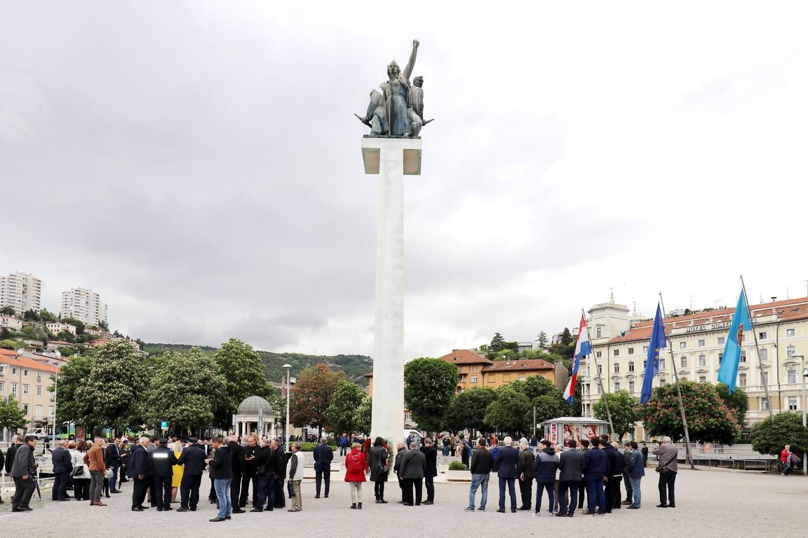 Polozeni Vijenci U Povodu Dana Oslobođenja Rijeke Grad Rijeka