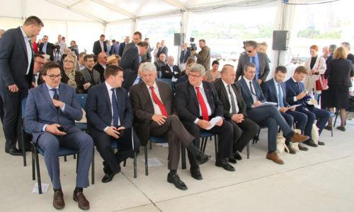 Svečani program - završeni radovi na izgradnji kontejnerskog terminala na Zagrebačkoj obali