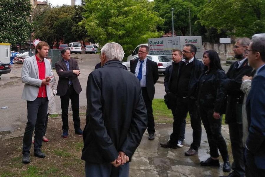 Vodstvo kompleksom Benčić za članove Poslovnog kluba PartneRi