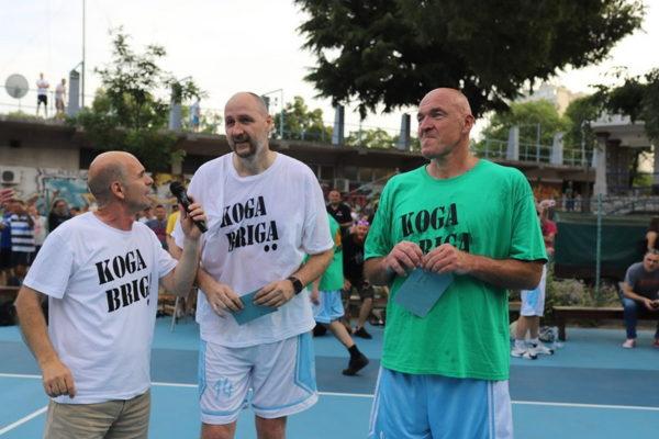 Josip Krmpotić, Dino Rađa i Aramis Naglić (foto: Dean Birtić)