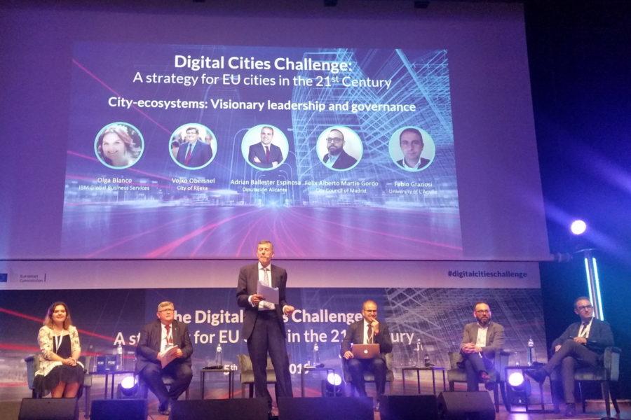 Konferencija projekta Digital Cities Challenge u Bruxellesu