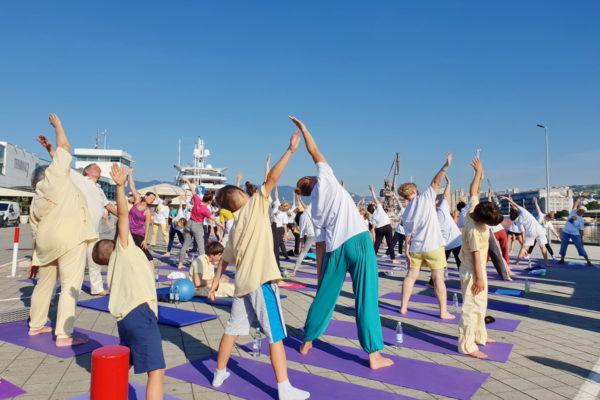 U Rijeci se međunarodni dan joge održava drugu godinu zaredom