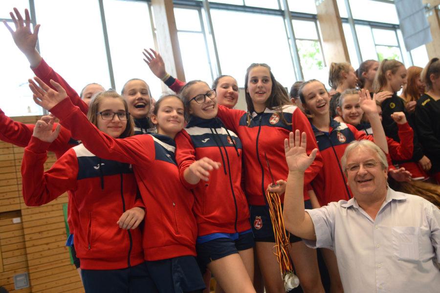 Na međunarodnom Quirinus Cup-u održanom u prijateljskom gradu Neussu, rukometašice ŽRK Zamet osvojile su srebru medalju u kategoriji C-mladi (2004. godište i mlađe)