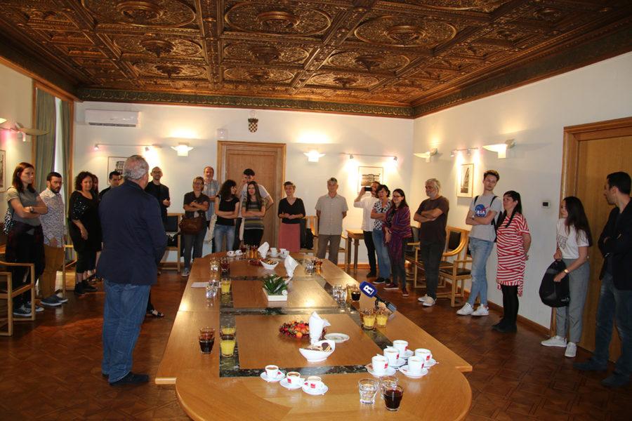 Održan prijem za sudionike 18. Festivala europske kratke priče