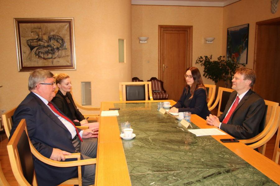 Susret s austrijskim veleposlanikom Andreasom Wiedenhoffom