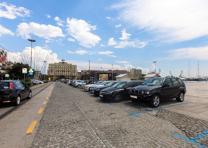 Parkiralište Putnička obala
