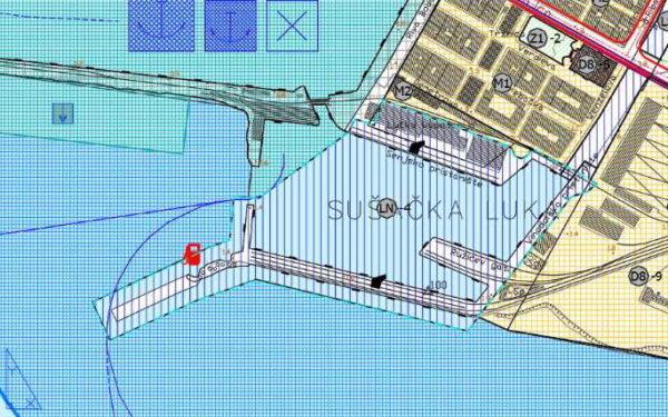 Prijedlog obuhvata Porto Baroša u novom GUP-u