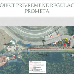 Projekt privremene regulacije prometa Kačjak