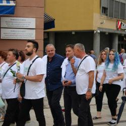 """Rijekom prošao mimohod sjećanja """"Srebrenica svijetom hodi"""" u čast žrtvama genocida"""
