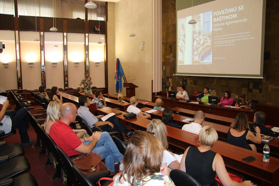 Sjednica Partnerskog vijeća Urbane aglomeracije Rijeka 2.7.2019