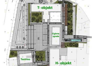 Uređenje javnih površina unutar kompleksa Benčić s pripadajućom infrastrukturom