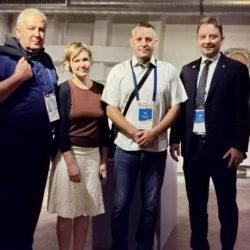 Nikola Ivaniš, Janine Uhleman, Goran Pernjek i Andrej Poropat na izložbi Riječki torpedo
