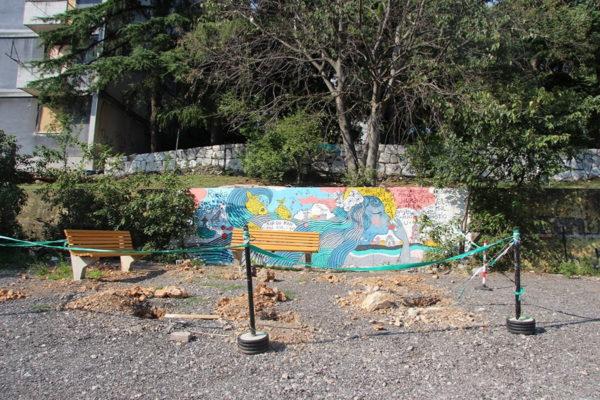 Projekt uređenja javne površine provodi se u nekoliko faza