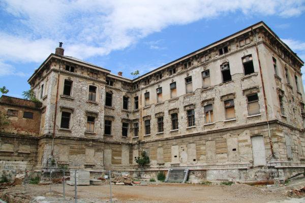 T-objekt u kompleksu Benčić - buduće zgrade gradske knjižnice