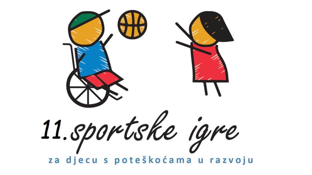 Logotip 11.-ih riječkih sportskih igara za djecu s teškoćama u razvoju