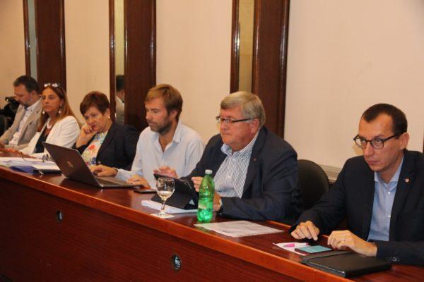 Gradonačelnik Vojko Obersnel sa suradnicima