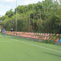 Zarasle grane na nogometnom terenu - MO Grbci 2019.