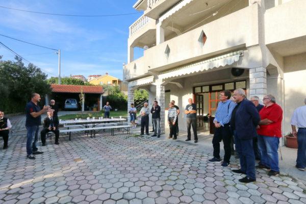 Predsjednik MO Gornji Zamet Krunoslav Kovačević zahvalio se svima uključenim u uređenje novih prostorija