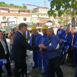Premijer Plenković susreo se s radnicima