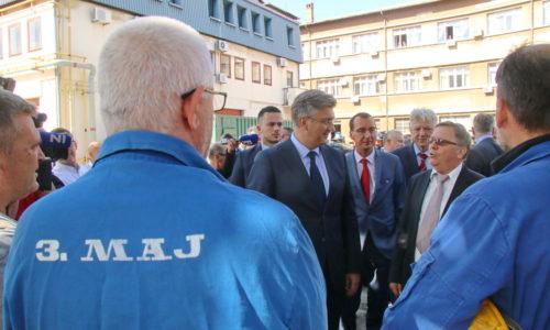 Premijer Plenković u posjetu 3. maju