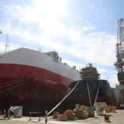 Cilj danog jamstva završetak gradnje brodova