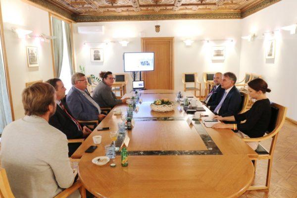 Radni sastanak s ministrom turizma