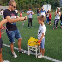Podjela medalja i pehara učesnicima nogometnog turnira, Golman HNK Rijeka, Andrej Praskalo