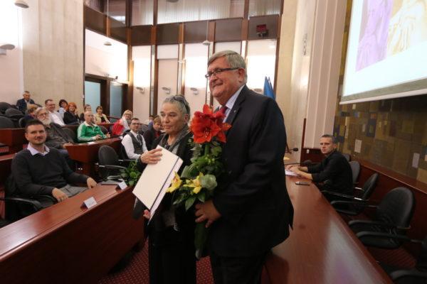 Nagrada za najbolje objavljeno književno djelo na čakavštini Mariji Trinajstić