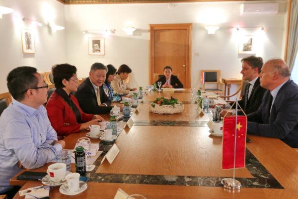 Razgovaralo se o načinima suradnje Rijeke i velikog kineskog grada