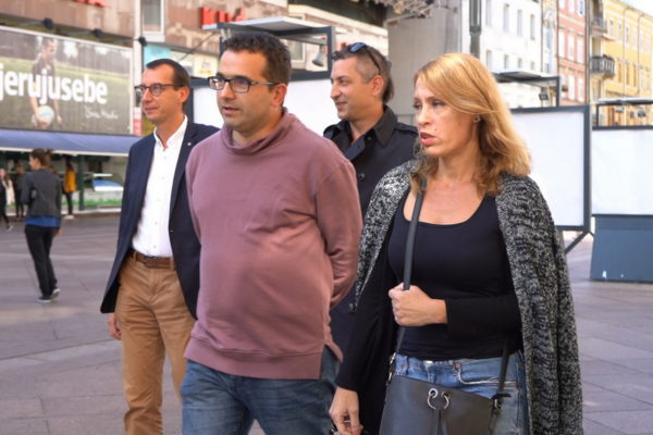 Marko Filipović, Zoran Grozdanov, Zoran Badurina i Ana Karakaš
