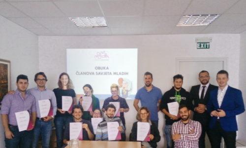 Obuka članova Savjeta mladih Grada Rijeke u sklopu projekta Locall for Youth