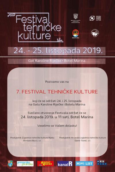 Plakat - Festival tehničke kulture 2019