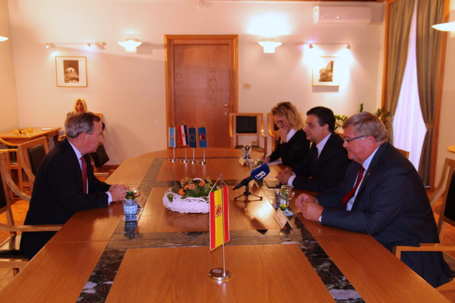Prijam za španjolskog veleposlanika