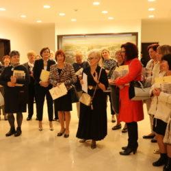 U ime umirovljenika zahvalila se bivša ravnateljica OŠ Dolac Nadia Poropat