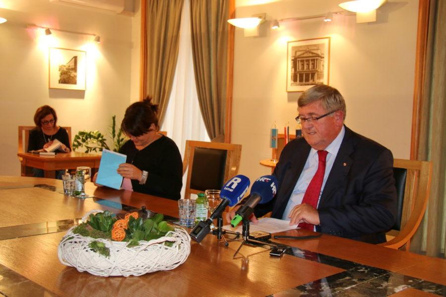 Redovna gradonačelnikova konferencija za medije 10.10.19.